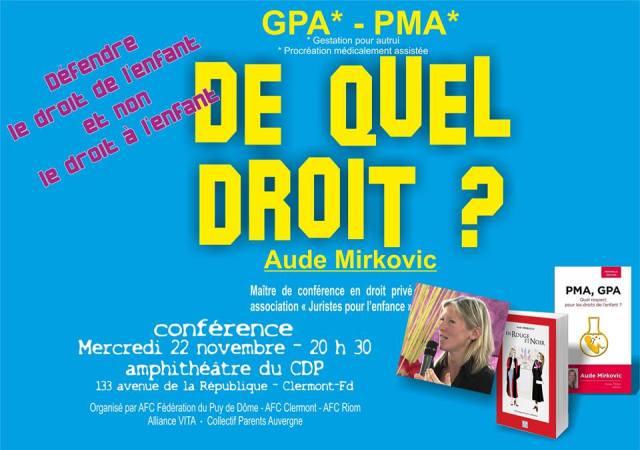 Aude Conférence